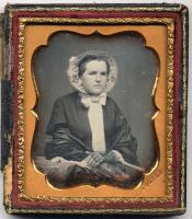 Isaac H. Dupee daguerreotype, Bath, ca. 1855