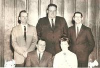 John Bapst Quarterback Club Officers, Bangor, ca. 1963