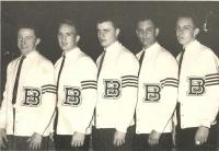 John Bapst Lettermen, Bangor, ca. 1963