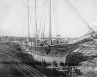 Dry dock, South Portland, ca. 1900