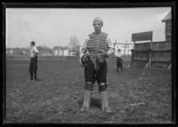 Baseball catcher, Biddeford, 1924
