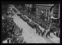 Sailors marching, Portland, 1920