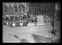 Maine Centennial Celebration #8 parade float, Portland, 1920