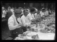 Kiwanis Club clambake, Scarborough, 1920