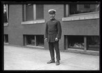 Japanese naval officer, Portland, 1920