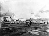 Flake yard, Portland, 1854
