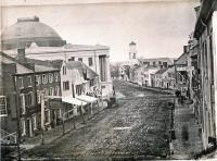 Middle Street and Portland Exchange, ca. 1850