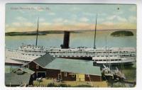 Eastern Steamship Landing, Lubec, ca. 1910