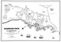 Falmouth Neck before burning, 1775