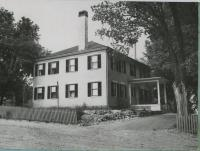 The Tracy-Gibbs House, Biddeford, 1953