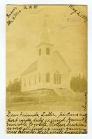 Methodist Church, South Lubec, 1907