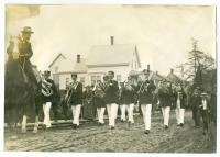 Parade on Washington Street, Lubec, ca. 1900