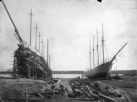 Percy and Small Shipyard, Bath, 1902