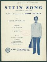 'Stein Song,' 1930