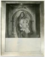Helen Barrows as 'Madonna and Child Enthroned,' Portland, 1923