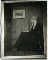 Frances L. Larrabee as 'Arrangement in Gray and Black,' 1923