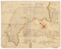 Map of J. Robinson lot, Topsham, 1761
