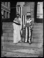 Uncle Sam and Goddess Liberty, Portland, 1924