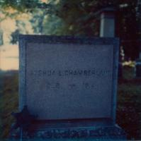 Gen. Joshua L. Chamberlain's grave site