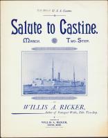 'Salute to Castine,' Castine, 1896