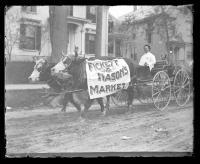 Oxen Advertisement, Bangor, ca. 1895