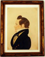 Peter Ayer miniature, Freedom, ca. 1825