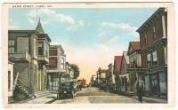 Water Street, Lubec, ca. 1918
