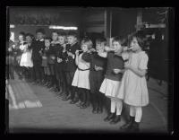Dental instruction at Casco Street School, Portland, ca. 1922