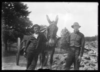 Portland water supply workers, Sebago area, ca. 1923