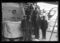 "Crew of ""Kasuga,"" Portland, 1920"
