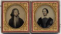 Sarah and Iantha Perley, Unity, 1855
