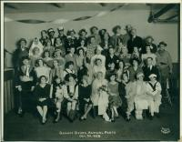 Benoit store annual party, 1928