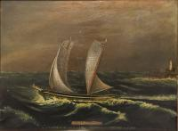 "Schooner ""Polly,"" bound for Portland, 1847"