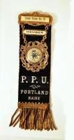 Printers' Union badge, ca. 1900