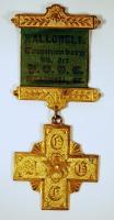 UOCG pin, Hallowell, ca. 1900