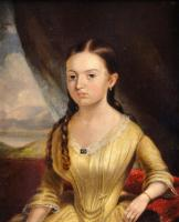 Hardy's portrait of a girl, Bangor, 1850