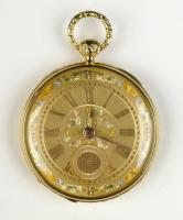 Sarah E. Cummings French gold watch, ca. 1826