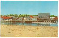 Waterfront at Lower Water Street, Lubec, ca. 1960