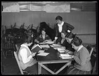 Portland Americanization class, 1924