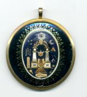 Masonic locket, ca. 1800