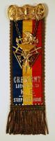 Knights of Pythias ribbon, ca. 1900