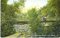 The Wire Mill Dam, Vaughan Woods, Hallowell, ca. 1910
