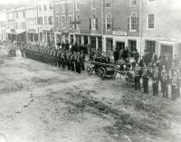 Tiger Fire Co., Water Street, Hallowell, ca. 1888