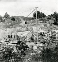 Stickney & Page Dam, Cascade, Hallowell, 1871