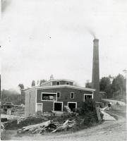C & E Milliken Sawmill, Hallowell, ca. 1900