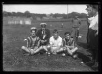 British relay team, Portland, 1920