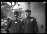 Japanese officers, Portland, 1920