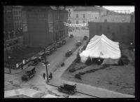YWCA tent, Maine Centennial, Portland, 1920