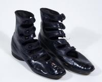 Doris Scrimgeour shoes, Lewiston, ca. 1910
