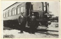 "Portland-Lewiston Interurban's car #14 ""Narcissus"", Gray, ca. 1930"